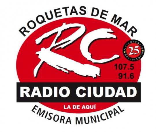 Logotipo de Radio Cuidad Roquetas