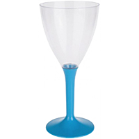 Icono copa de vino pie turquesa - DeFiestaEnCasa