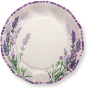 decoración lila