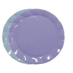 Bajo plato de plástico