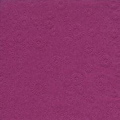 Servilleta con relieve color morado - DeFiestaEnCasa