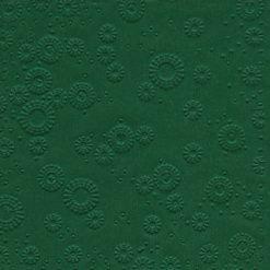 Servilleta con relieve color verde botella - DeFiestaEnCasa