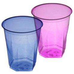 Vaso cubic en colores - DeFiestaEnCasa