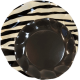 Plato-cebra-con-plato-negro-DeFiestaEnCasa