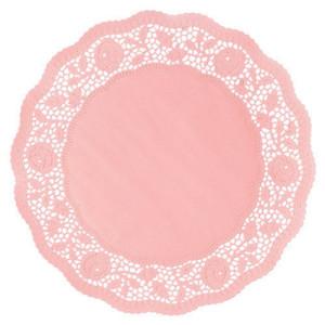 Blonda pequeña de flores rosa - DeFiestaEnCasa