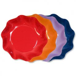 Bol satinado de colores - DeFiestaEnCasa