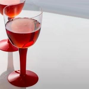 Copa de vino y cerveza roja - DeFiestaEnCasa