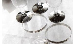 Copas de vino de plata - DeFiestaEnCasa