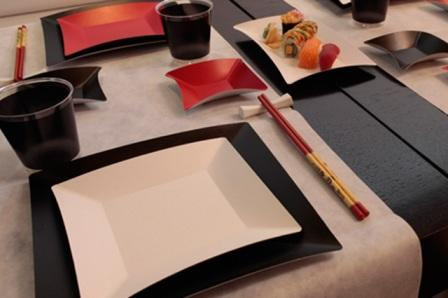 plato de cartón línea wasabi