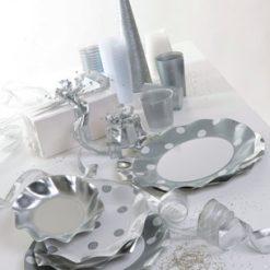 platos lunares plata-DeFiestaEnCasa