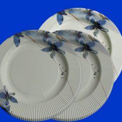 Plato-flores-azules