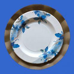 Plato-flores-azules-