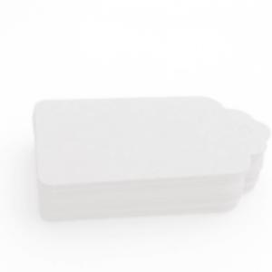 Etiqueta cartón kraf balnco