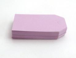 Etiqueta cartón lila