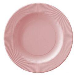 plato serenity rosa cuarzo - DeFiestaEnCasa