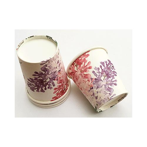 Vaso-aperitivo o café flor-de-lila