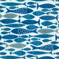 servilleta banco de peces