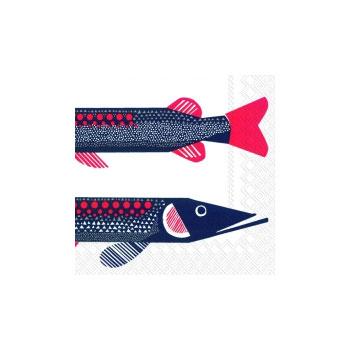 servilleta cóctel fish
