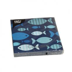 servilletas blue fish 02-DeFiestaEnCasa