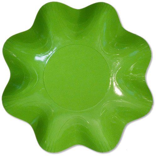 bol lujo satinado verde